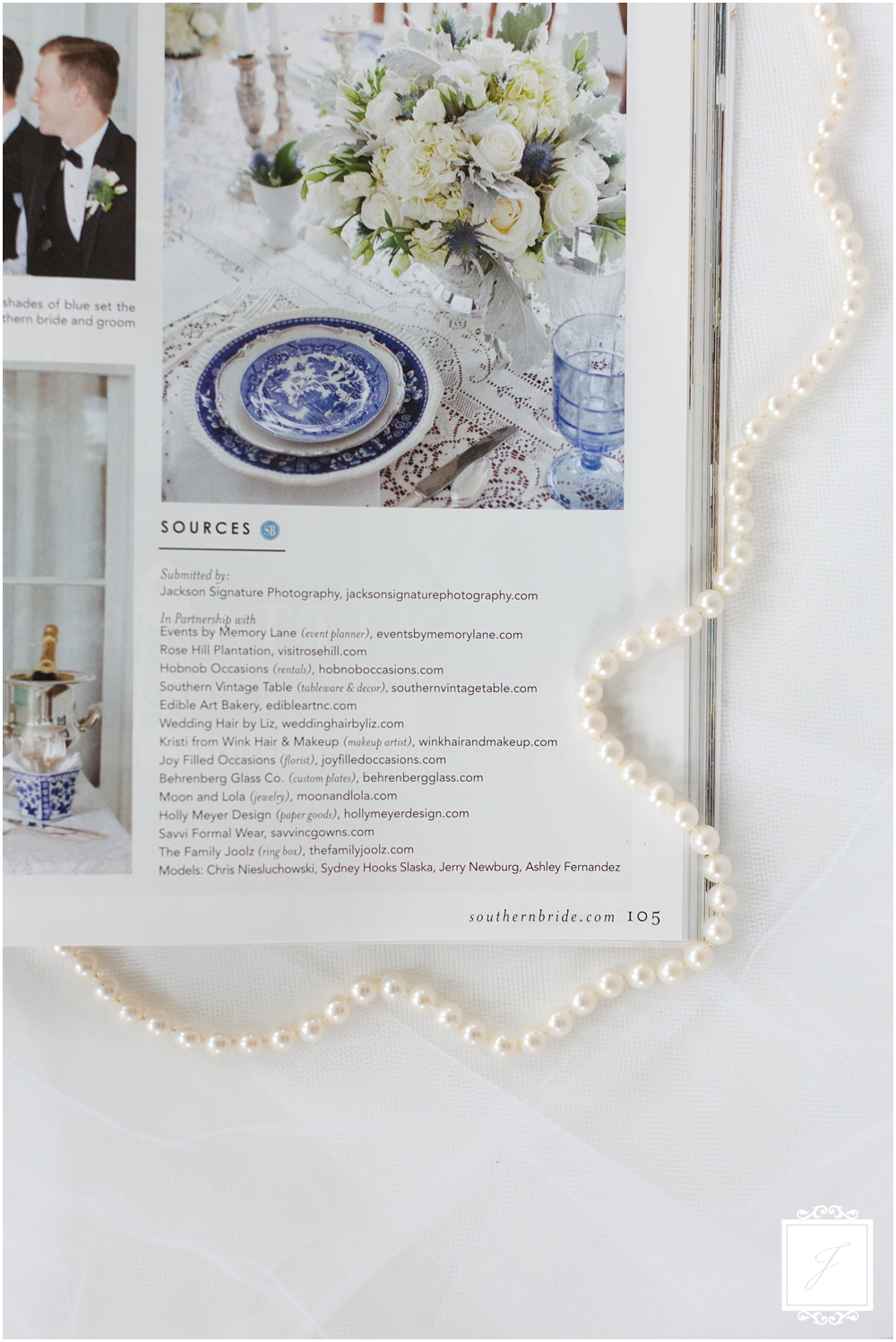 Southern Styled Wedding, Joy Filled Occasions, Greensburg Wedding Planner, Featured in Southern Bride, Photography by Jackson Signature Photography, North Carolina Wedding Photographer