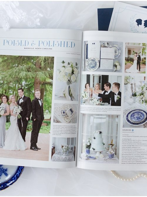 Featured in Southern Bride Magazine | Greensburg Wedding Planner and Florist