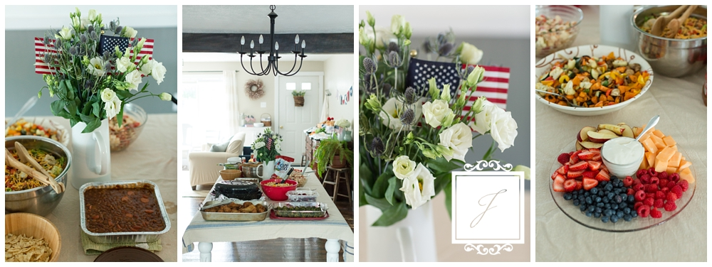 4th of July Cottage Decor by Joy Filled Occasions a Greensburg Wedding Planner Photos by Jackson Signature Photography a Pittsburgh Wedding Photographer
